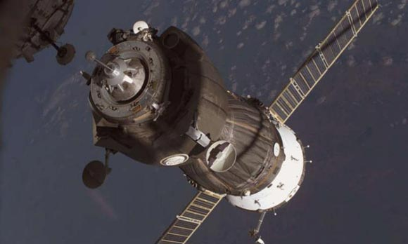 НА МКС прибыл на «Союзе» новый экипаж