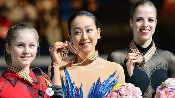 Юлия Липницкая завоевала «серебро» на ЧМ в Японии