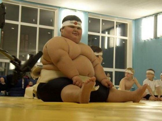 Джамбулат Хотохов - самый толстый мальчик в России