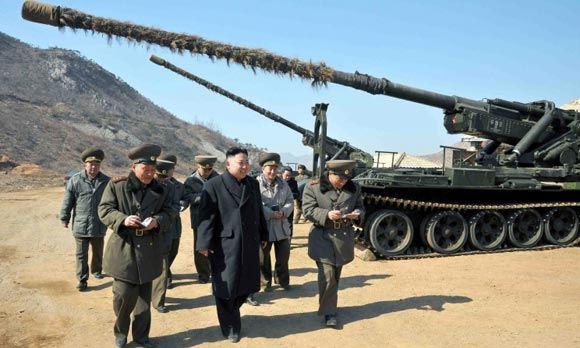 Южная Корея открыла ответный огонь после стрельбы Северной Кореи