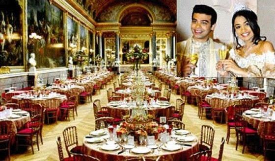 Самая дорогая свадьба в мире состоялась в 1981 году в Лувре. На нее потратили 78 миллионов долларов