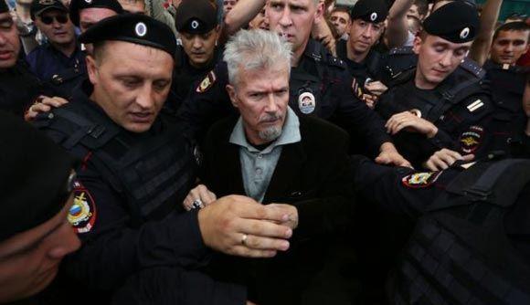 На Триумфальной площади снова разогнали активистов «Стратегии-31»