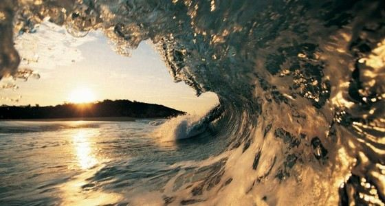 Океанские волны могут быть разной высоты