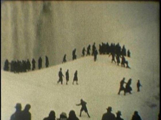 Ниагарский водопад в 1911 году замерз
