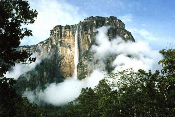 Водопад Анхель - самый красивый в мире