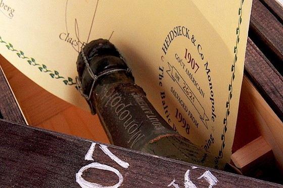 Shipwrecked 1907 Heidsieck - самое дорогое шампанское сегодня