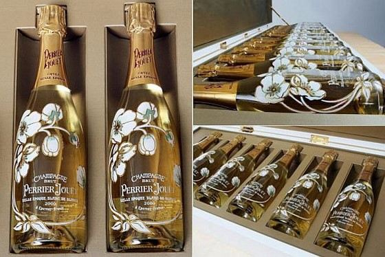 Perrier-Jouet champagne is considered the most delicious