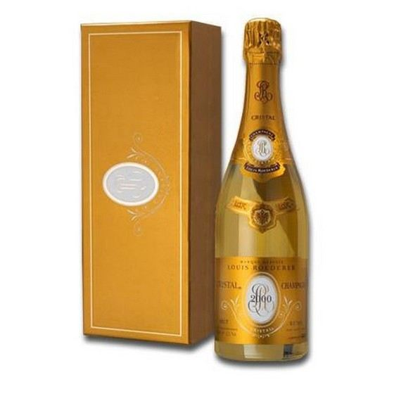 Cristal - the most expensive champagne in the world