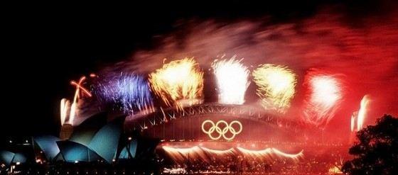 Салют на Олимпиаде в Сиднее признан одним из самых дорогих в мире