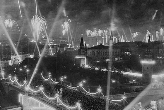 Салют в Москве в 1945 был самым мощным в истории