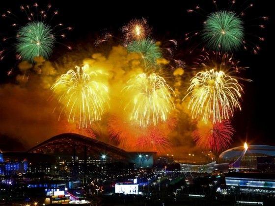 Салют на закрытии Олимпиады в Сочи признан одним из самых красивых