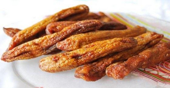 Сушеные бананы - самые калорийные фрукты