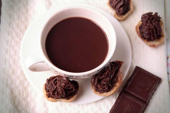 Горячий шоколад - самый калорийный напиток