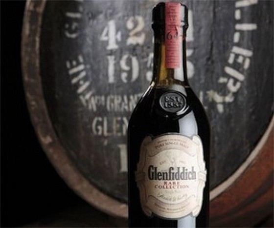 Самый старый виски изготовлен в 1937 году