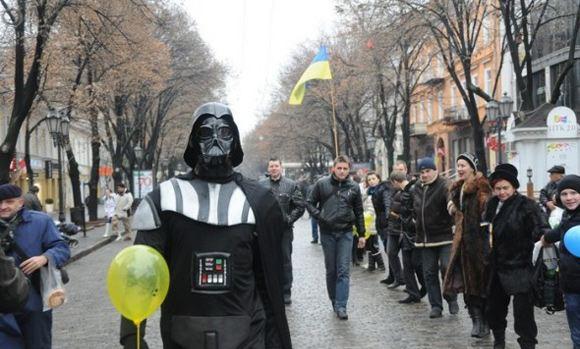 ЦИК Украины не пустил Дарта Вейдера на выборы