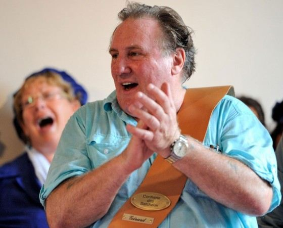 Gerard Depardieu since 2012 is a citizen of Russia