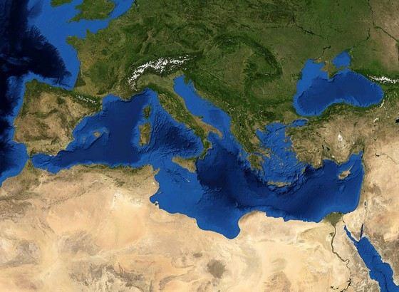 Средиземное море солонее многих других