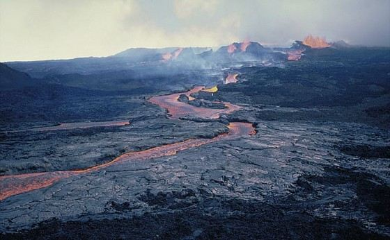 Мауна-Лоа - самый большой вулкан на Гавайях