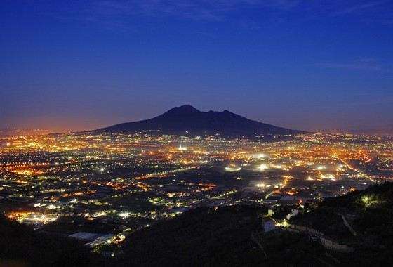 Vesuvius - one of the most famous volcanoes