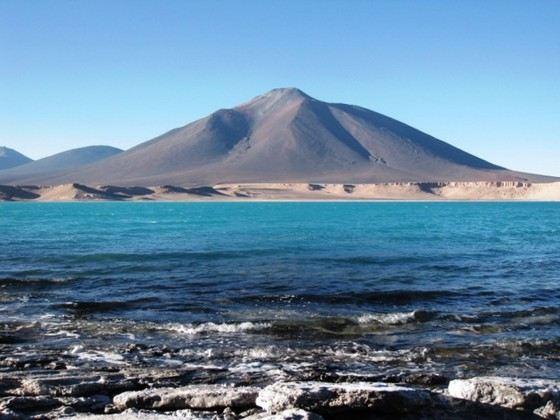 Самый большой вулкан в мире Охос-дель-Саладо считается потухшим
