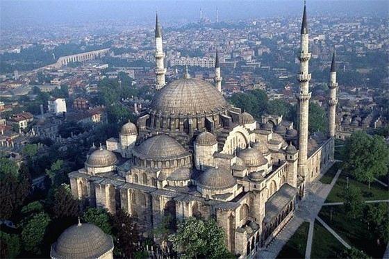 Мечеть Сулеймание в Стамбуле - одна из самых красивых в мире