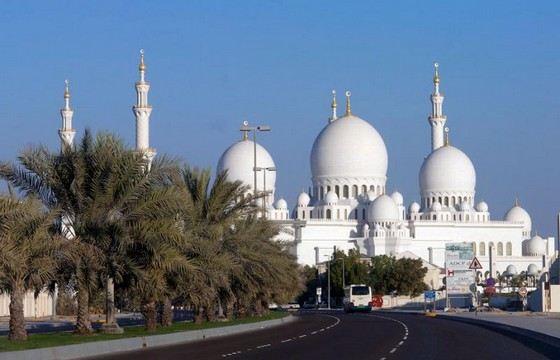 На строительство мечети шейха Зайда потратили 600 миллионов евро