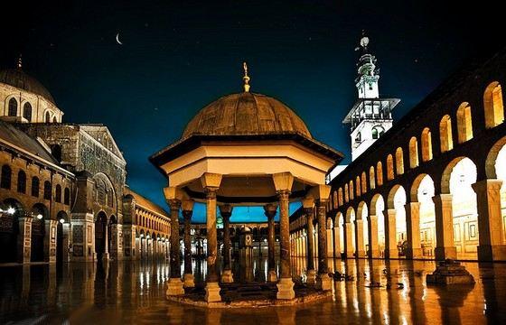 Мечеть Омейядов - старейшая в Сирии