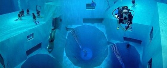 «Nemo 33» - самый глубокий открытый бассейн