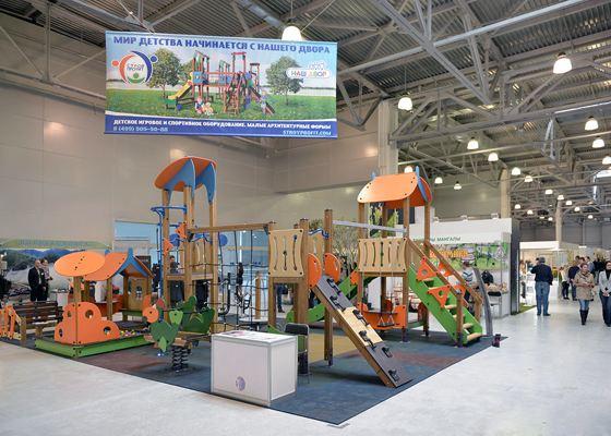 Москва. Garden Build 2014