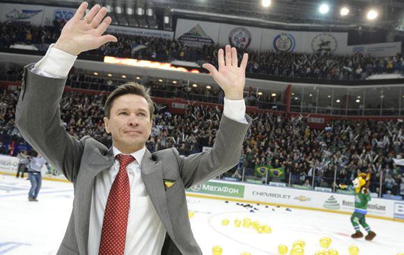 Вячеслав Быков стал новым главным тренером питерского СКА