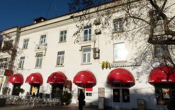 Сеть ресторанов «Макдональдс» объяснила, почему были закрыты заведения в Крыму
