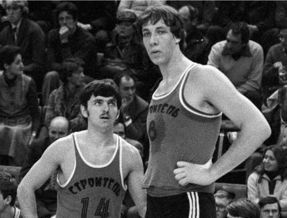 Александр Сизоненко был самым высоким баскетболистом в СССР