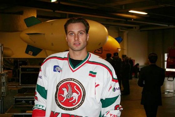 Alexey Morozov - charming hockey player
