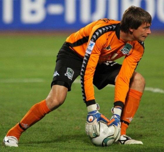 Игорь Усминский - самый возрастной игрок команды Терек