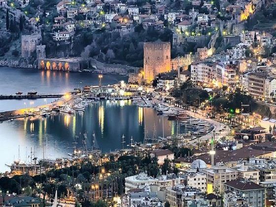 Аланья - самый жаркий город Турции