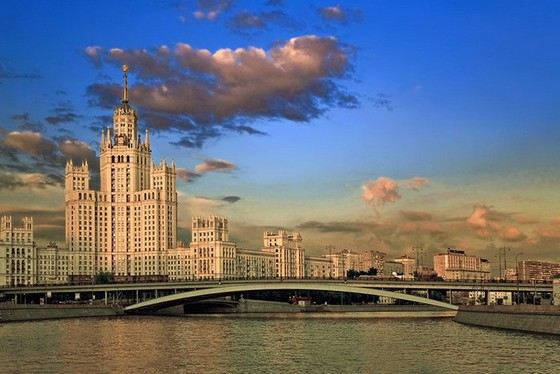 Moscow is the most beautiful city of Russia