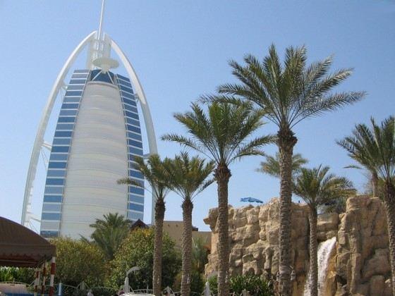 Дубаи город с прекрасной современной архитекрурой