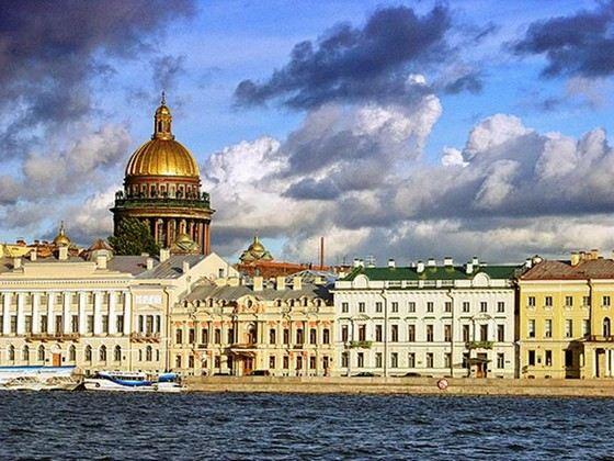 Санкт-Петербург занимает второе место в рейтинге российских городов