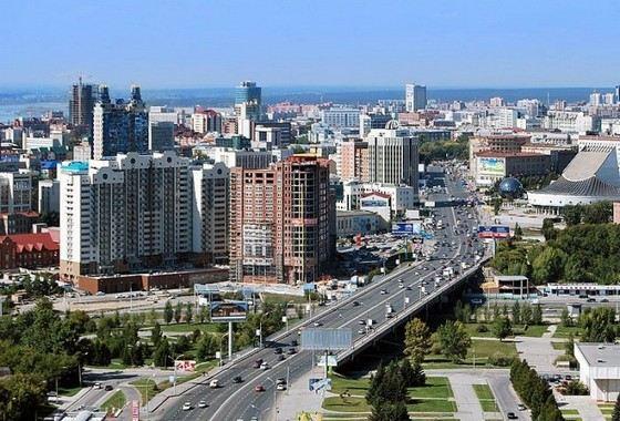 Новосибирск - один из самых больших городов в России