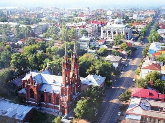 Самара - самый чистый из городов-миллионников