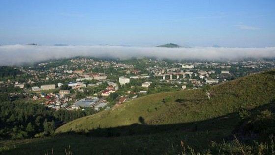 Горно-Алтайск удивительно чистый город
