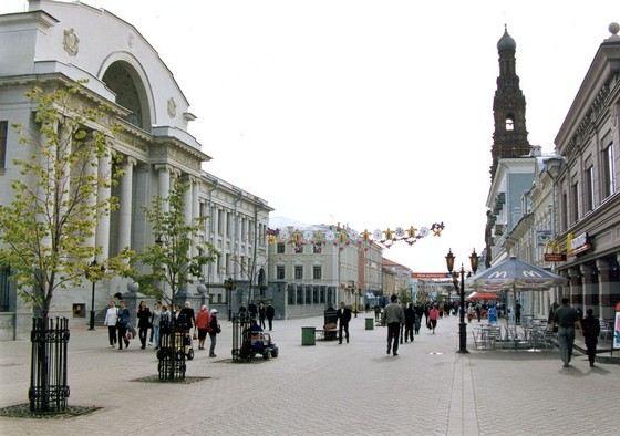 Казань не только красивый, но и чистый город