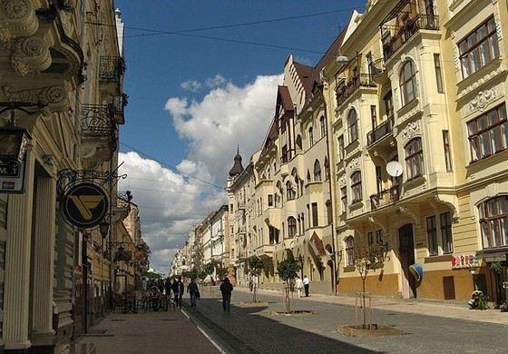 Черновцы - один из самых чистых украинских городов