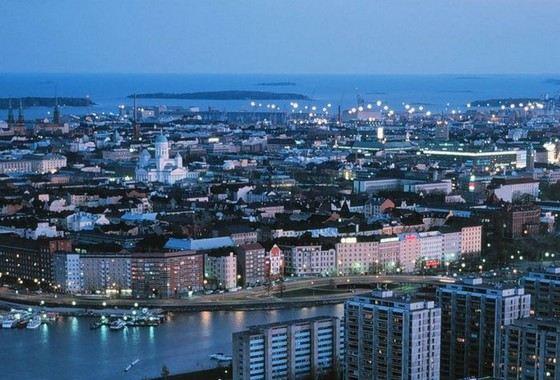 Хельсинки - один из самых чистых городов Европы