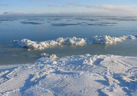 Берингово море самое глубокое в России