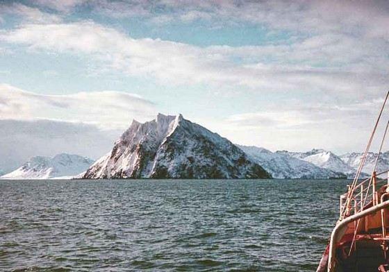 Берингово море самое большое в России