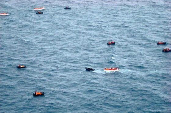 В Саргассов море из-за штилей тонули корабли