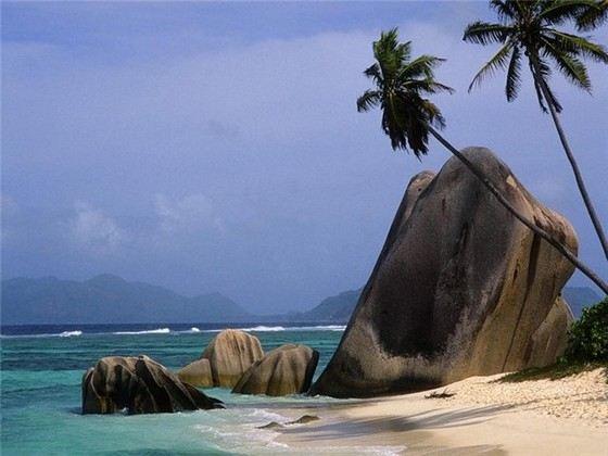 Потрясающе красивый пляж