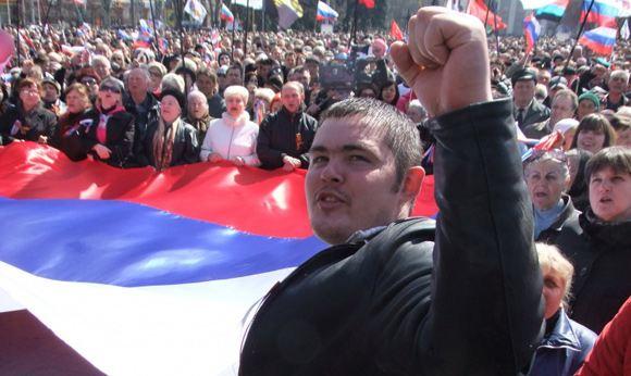 Депутаты Донецкого областного совета объявили о независимости области