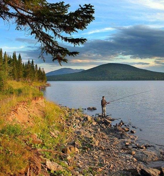 Озеро Зюраткуль одно из чистейших в Челябинской области